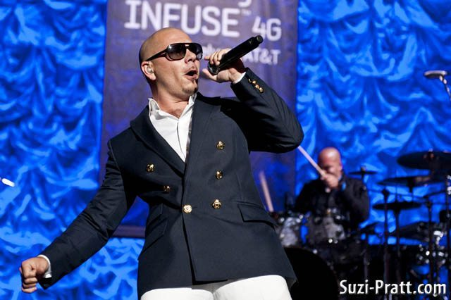 Photos: Pitbull at the Paramount