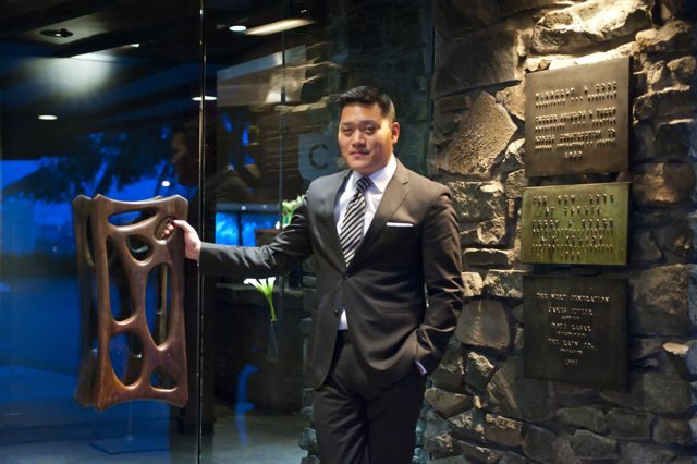 Service Director of Canlis Restaurant