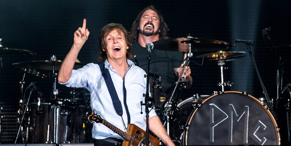 Paul McCartney and Dave Grohl Perform In Concert At Safeco Field