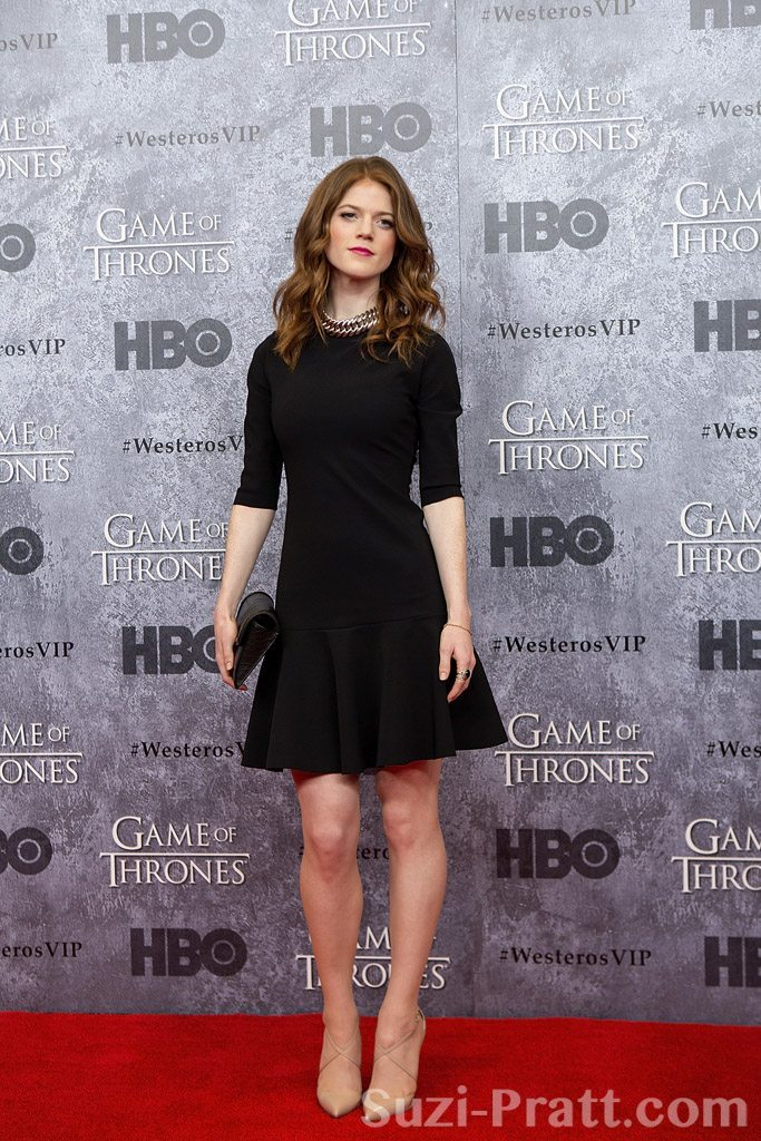"Rose Leslie at HBO's ""Game Of Thrones"" Season 3 Seattle Premiere"