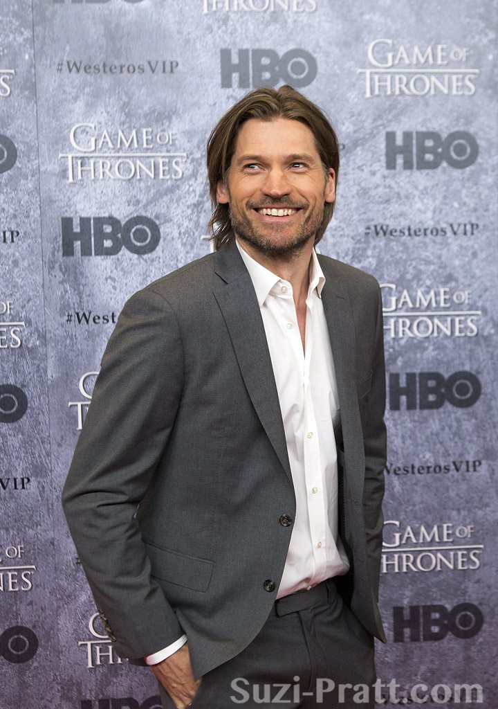 "Nikolaj Coster-Waldau at HBO's ""Game Of Thrones"" Season 3 Seattl"