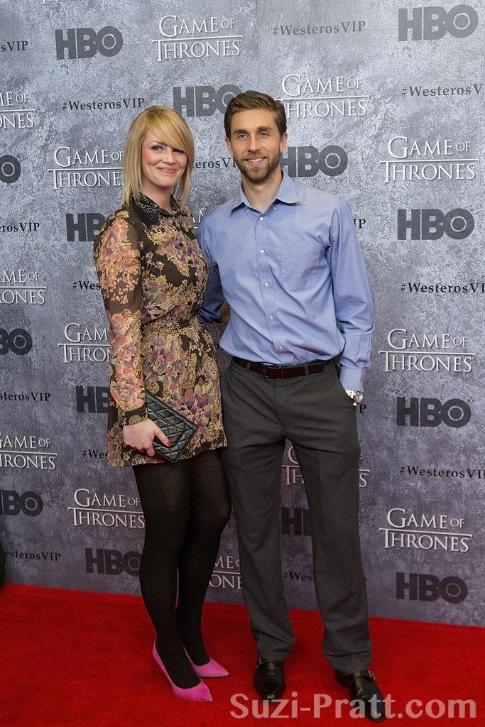"Andrew Duran at HBO's ""Game Of Thrones"" Season 3 Seattle Premier"
