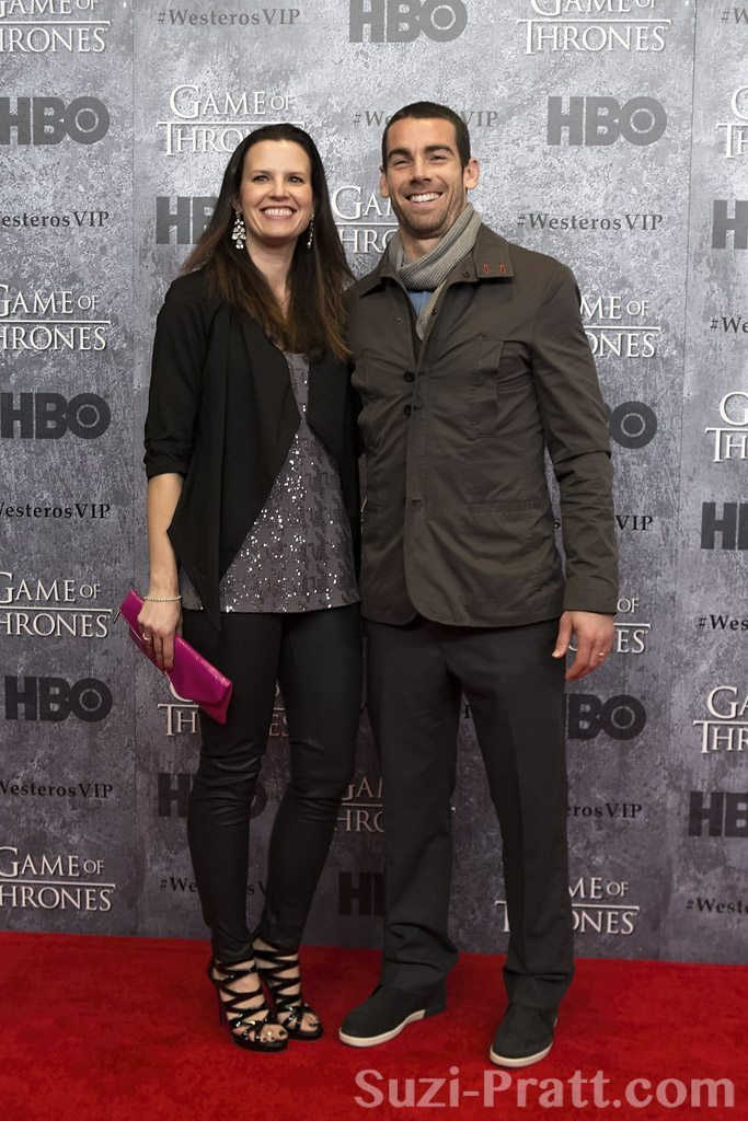 "Zach Scott at HBO's ""Game Of Thrones"" Season 3 Seattle Premiere"