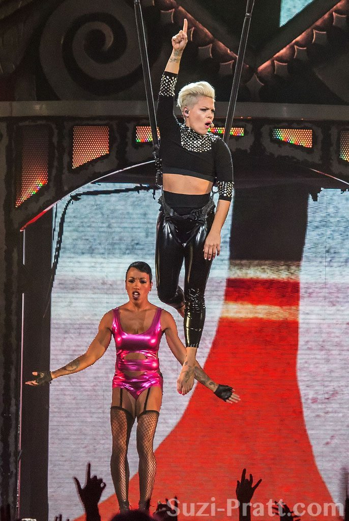 Pink In Concert - Seattle, WA