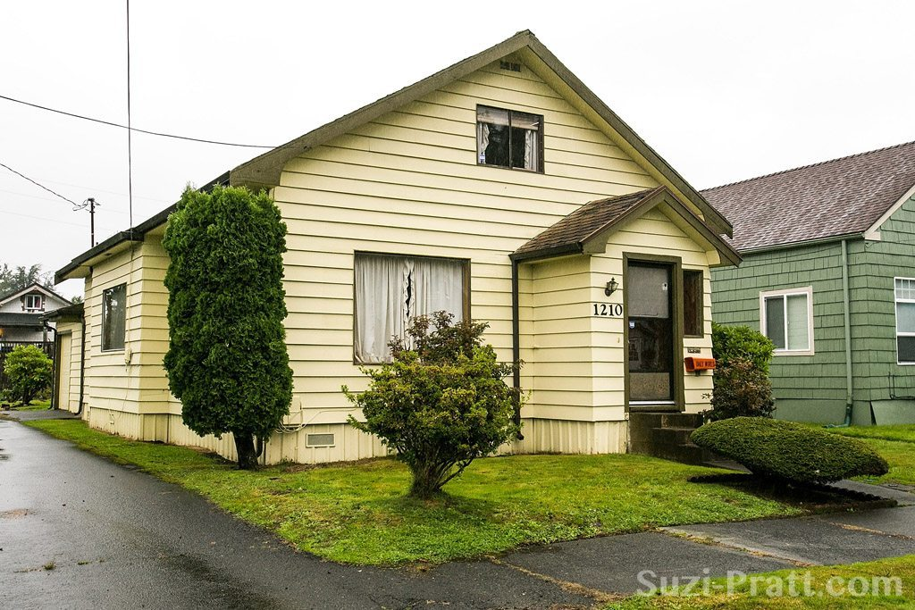Childhood Home Of Kurt Cobain In Aberdeen, WA