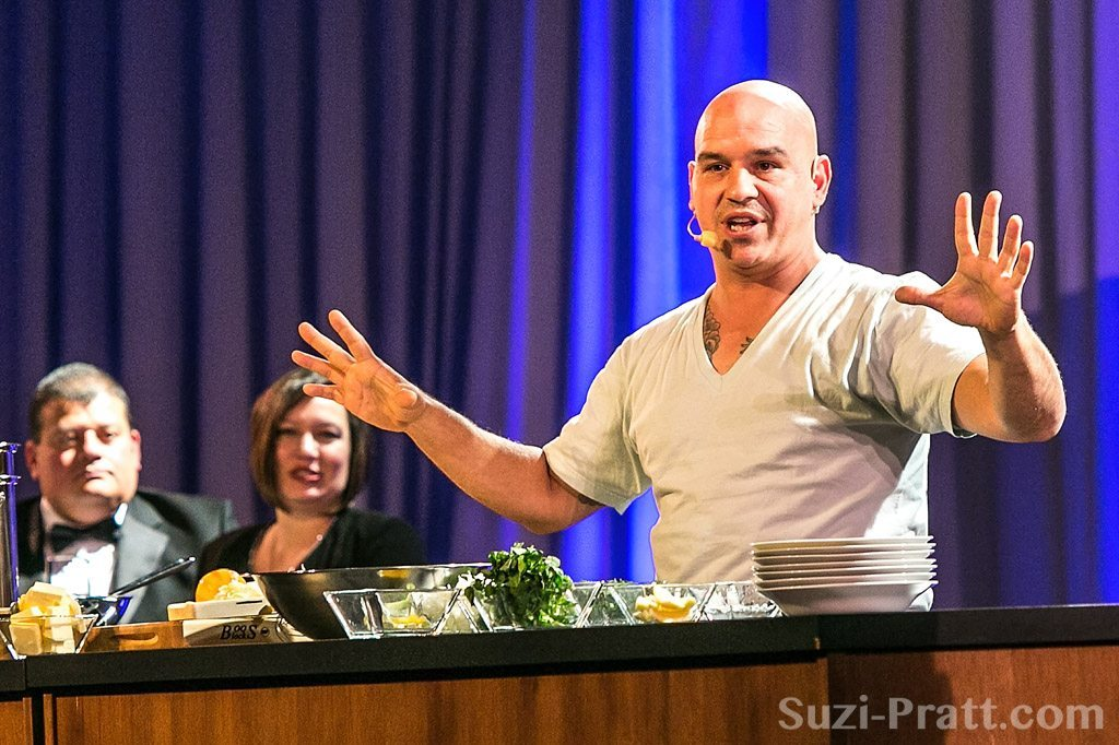 Celebrity Chef Michael Symon Seattle food event photographer
