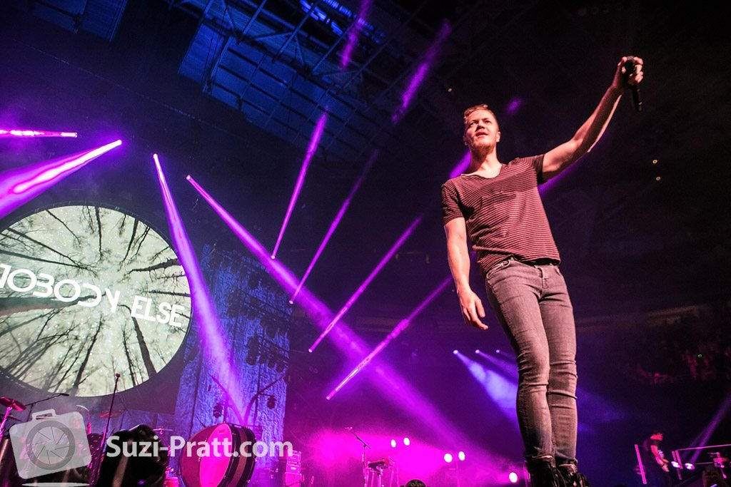 Imagine Dragons concert photography by Suzi Pratt