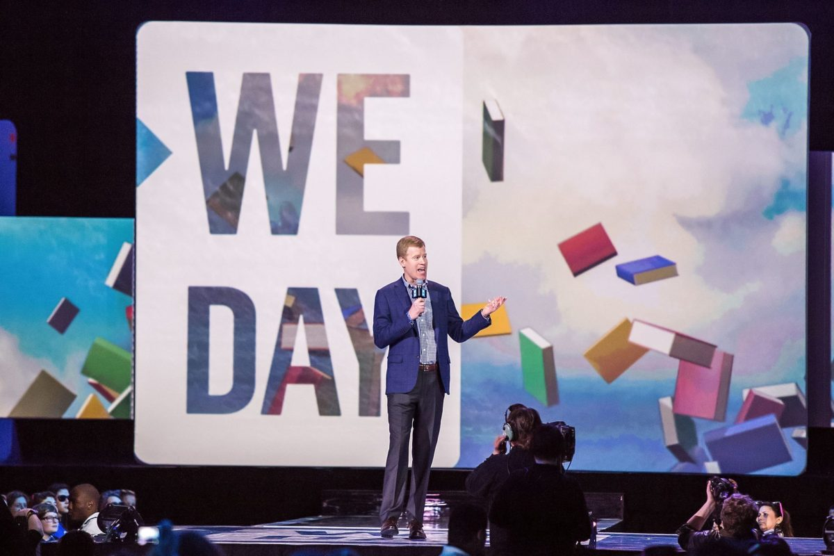 We Day Seattle event photography