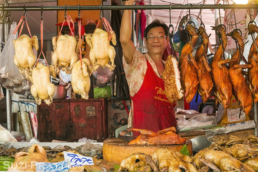 Bangkok Thailand Market Travel Photography
