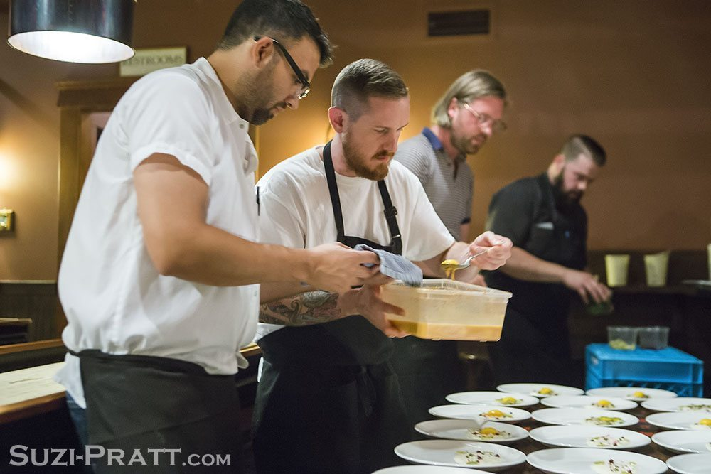 Capitol Cider collaborative chefs dinner