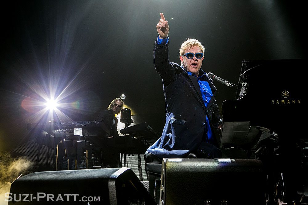 Elton John and Bright Light Bright Light in Seattle
