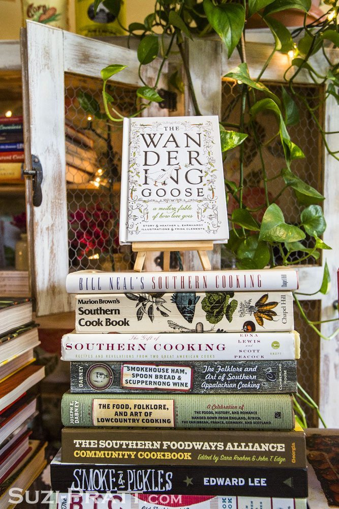 Heather Earnhardt Cookbook Collection @ The Wandering Goose in S
