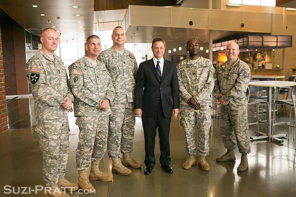 Gary Sinise Seattle event photography