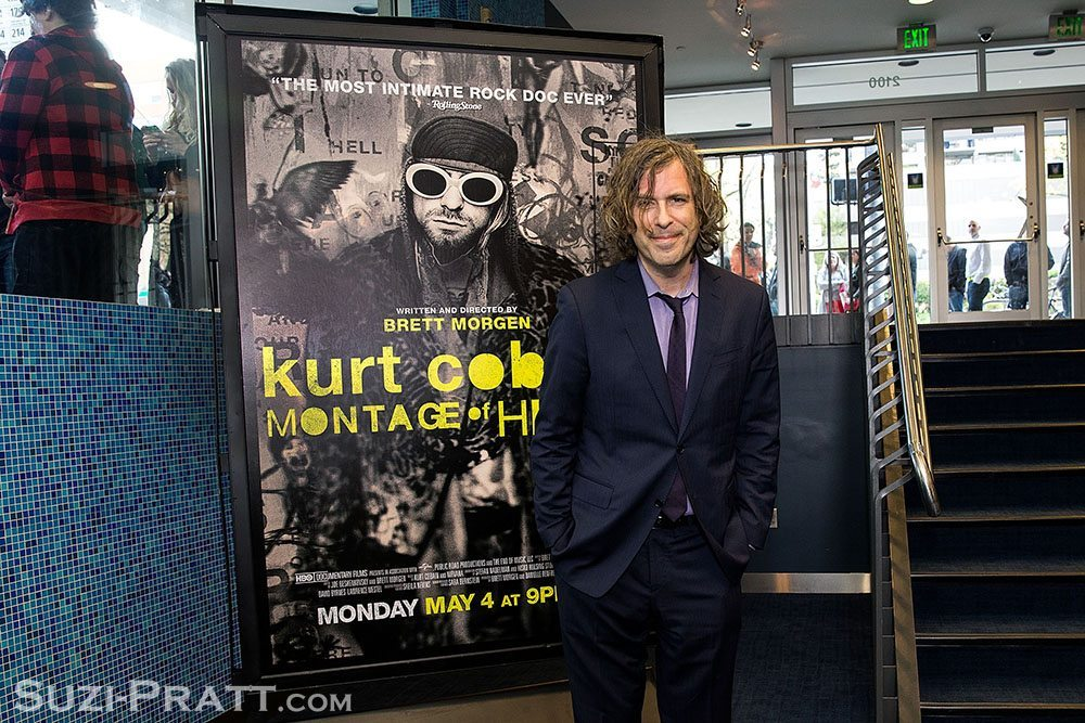 Brett Morgen Kurt Cobain Montage of Heck documentary