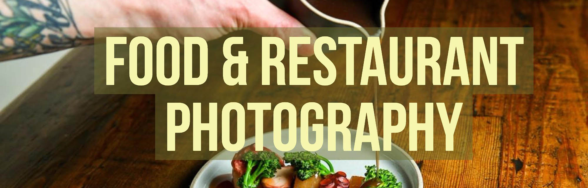 Seattle food photographer