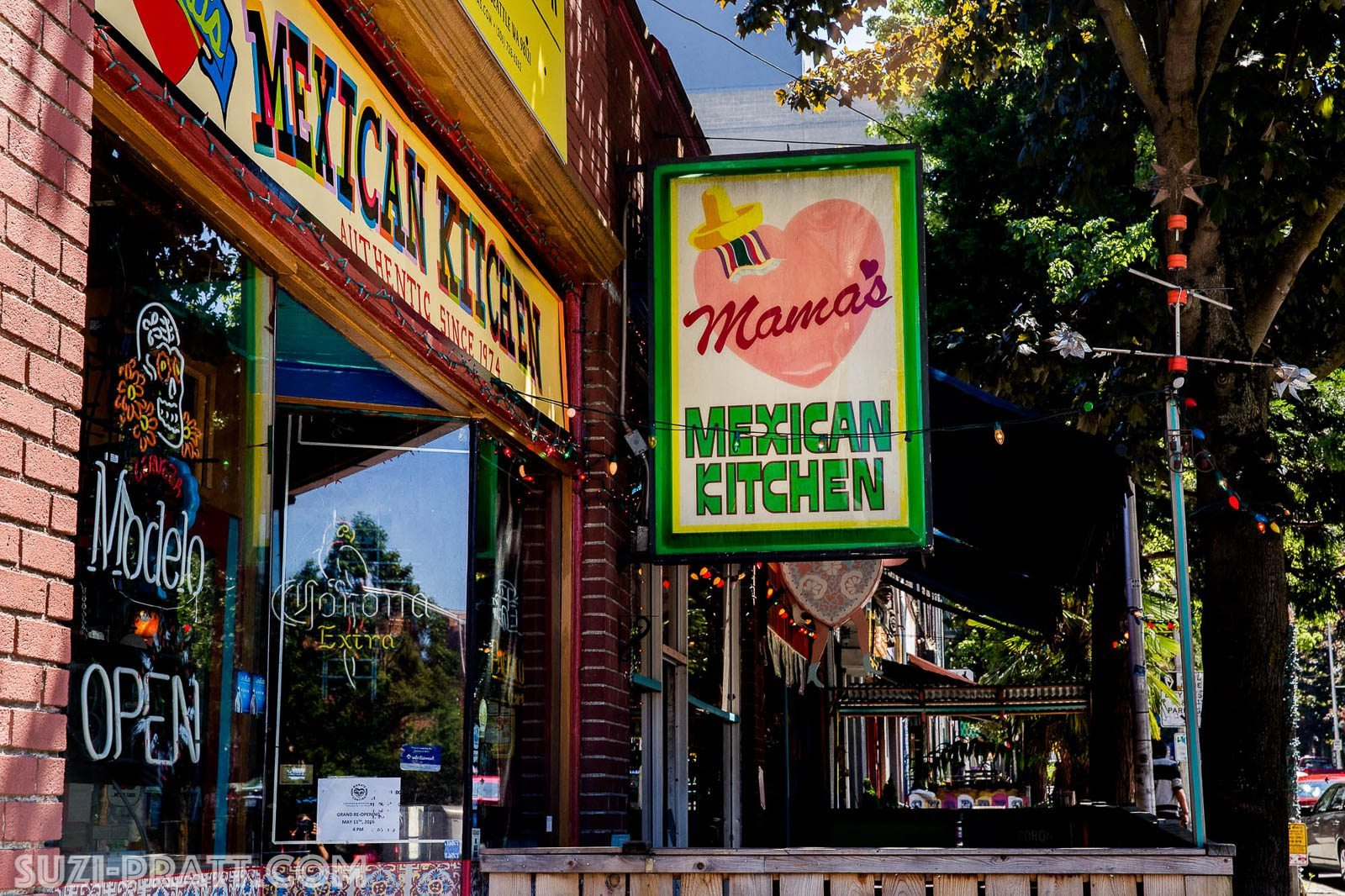 Mamas Cantina Seattle Mexican restaurant