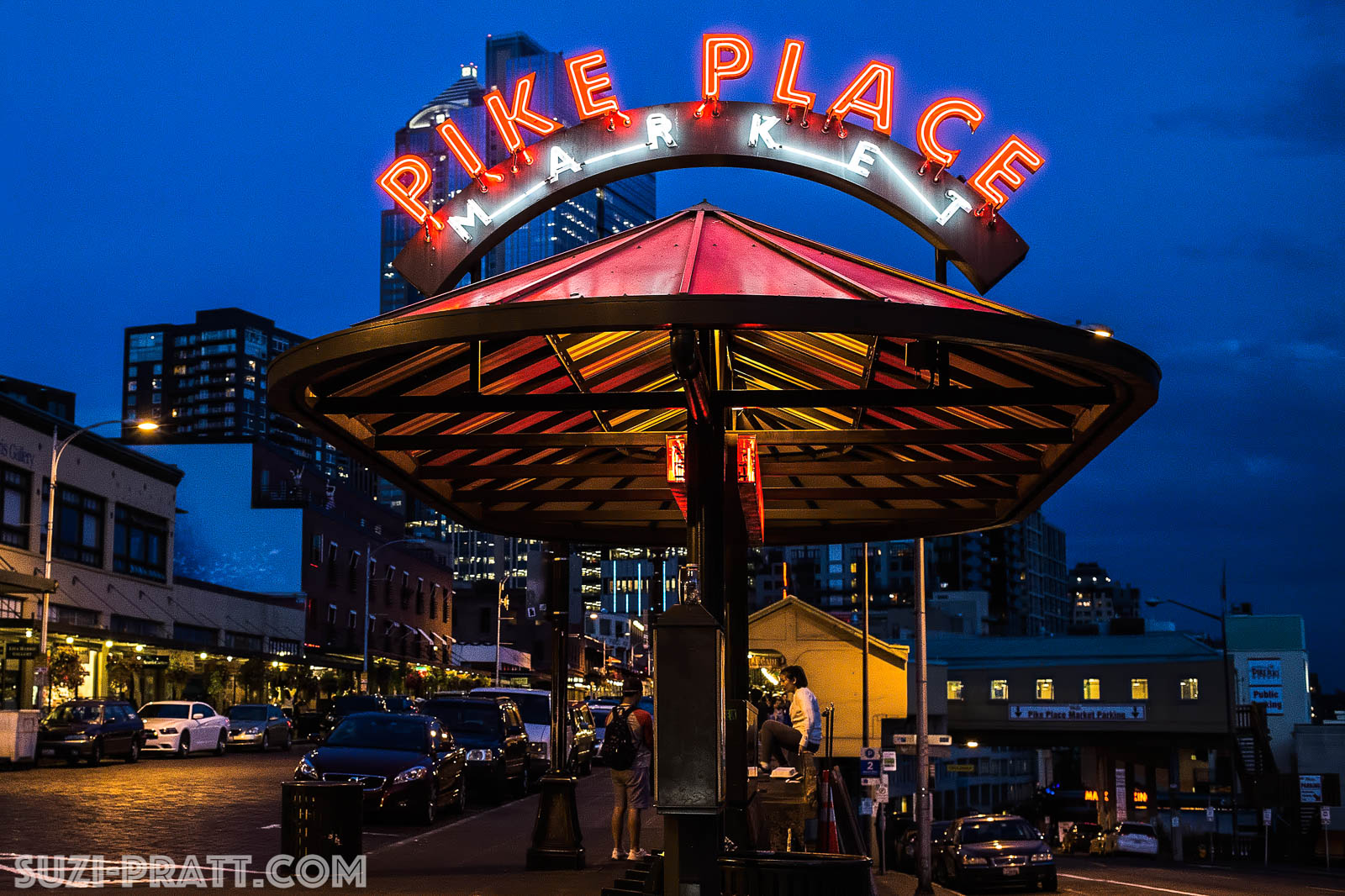 Pike Place Public Market Seattle photography