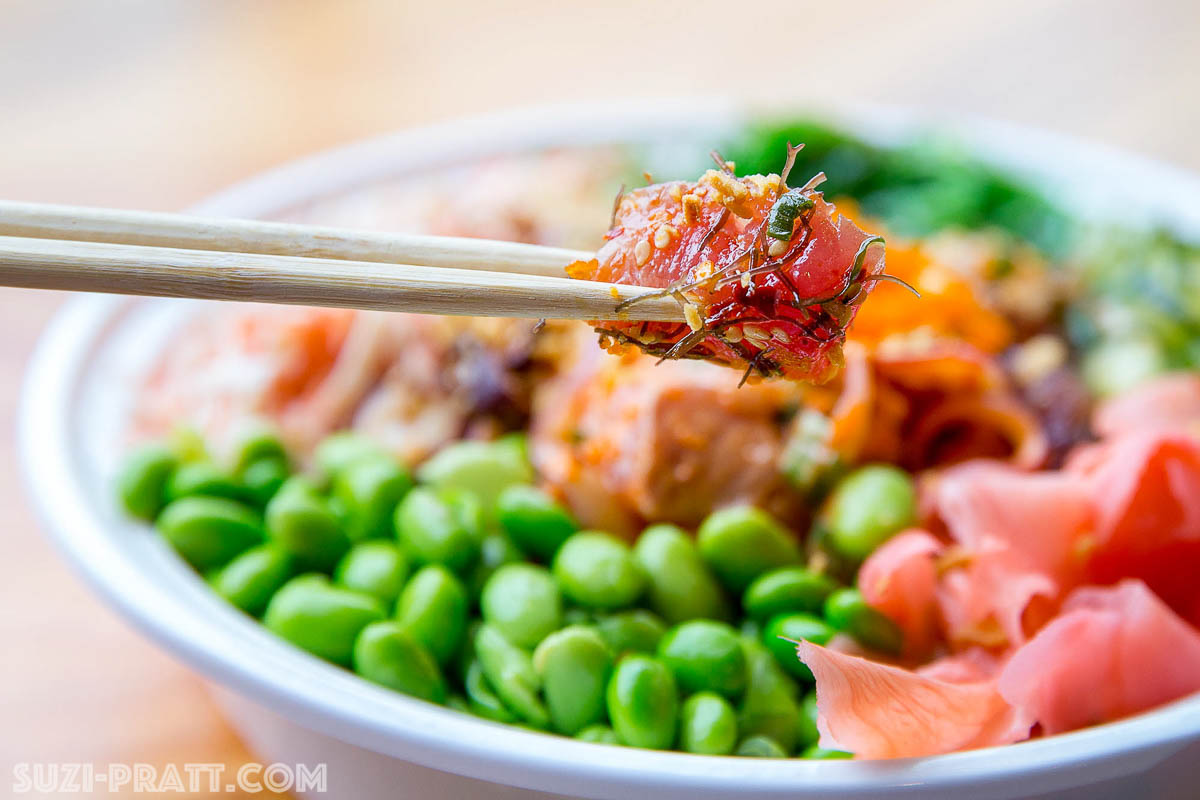 Seattle food photographer poke restaurant